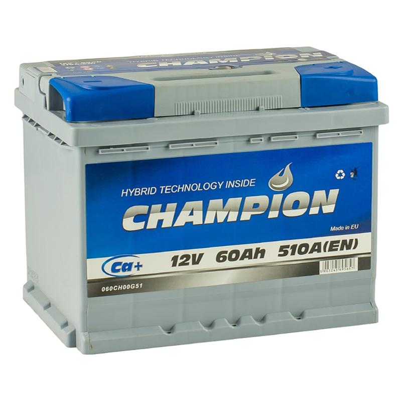 60 Ah/12V Champion Euro (0)